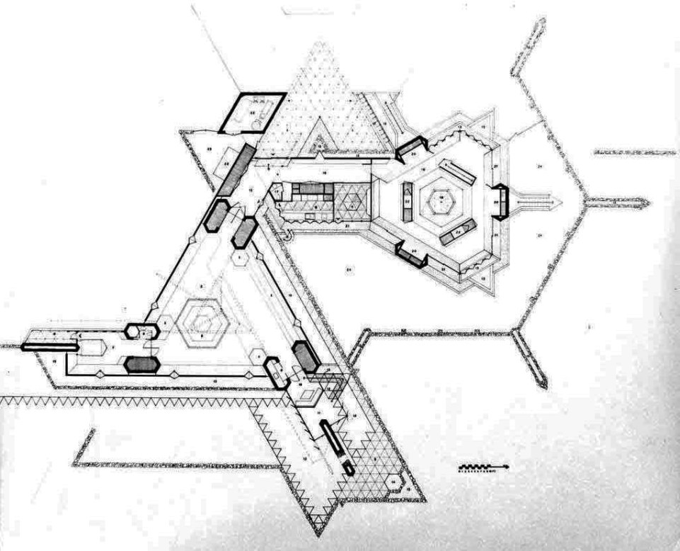 Price House, Plan.