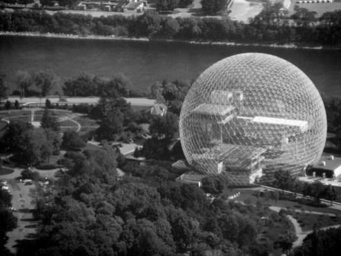 Restaered Biosphere Dome.