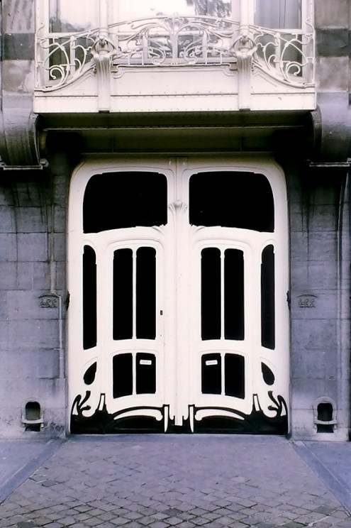 Brussels - Architect: Victor Horta - © R&R Meghiddo 1968 – All Rights