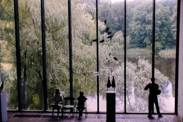 Louisiana Museum of Modern Art, 1958. Architect: Vilhelm Wohlert and Jørgen Bo - © R&R Meghiddo 1968 – All Rights