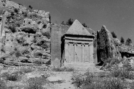 Jerusalem - Zechariah Tomb - © R&R Meghiddo 1967 – All Rights Reserved