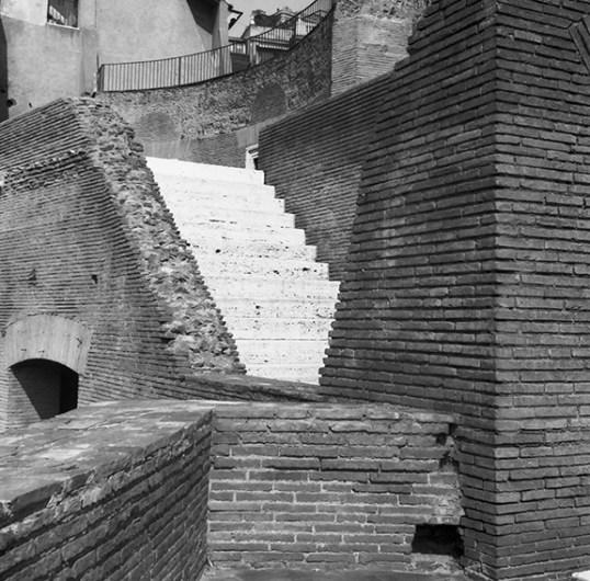 Roma - Teatro di Marcello - © R&R Meghiddo 1967 – All Rights Reserved