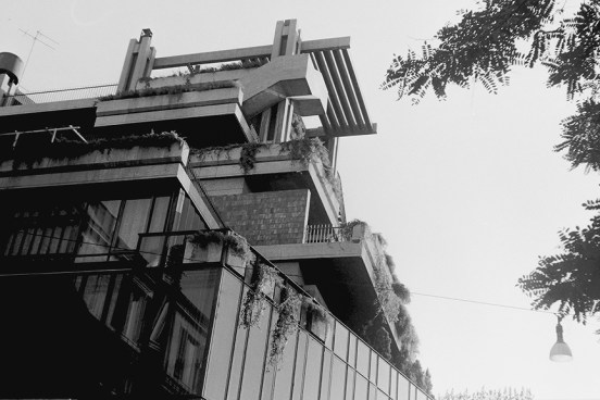 Roma - Mixed-use in via Romagna, 1965 - Pasarelli Studio - © R&R Meghiddo 1967 – All Rights Reserved