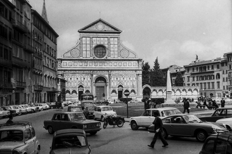 Florence - Santa Maria Novella, 1420 - © R&R Meghiddo 1967 – All Rights Reserved
