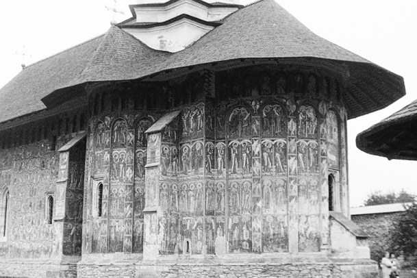 Suceava - Moldovita Monastery, 1537 - © R&R Meghiddo 1967 – All Rights Reserved