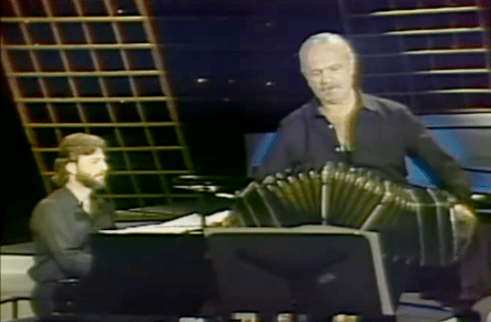 Piazzolla and Pablo Ziegler, 1984