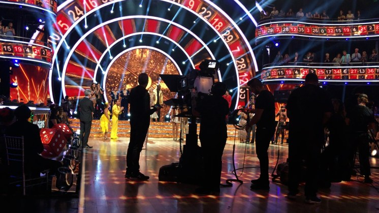 At CBS - Dancing with the Stars
