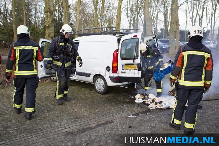 2015-02-22 Autobrand Veelerveensterweg Veelerveen