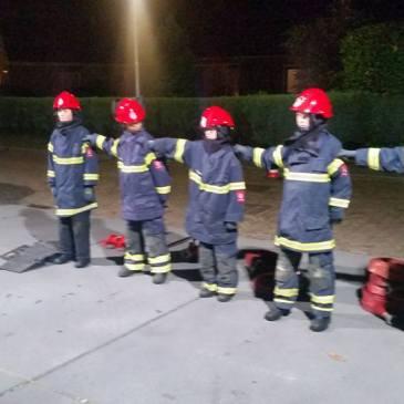2015-10-29 op bezoek bij jeugdbrandweer Westerkwartier