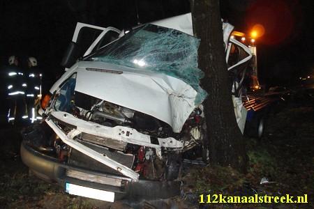 2010-12-12 brandstoflekkage na ongeval, Onstwedde