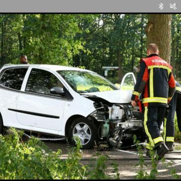20-08-2016 ongeval Wedde