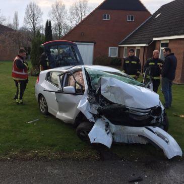 01-04-2017 Ongeval Schapendriftsweg Sellingen
