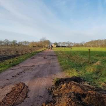 30-01-2018 Gaslekkage Barlagerweg Onstwedde