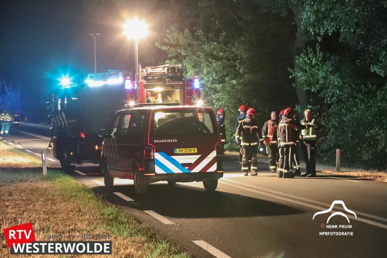 10-08-2018 Ongeval Wedderstraat Vlagtwedde