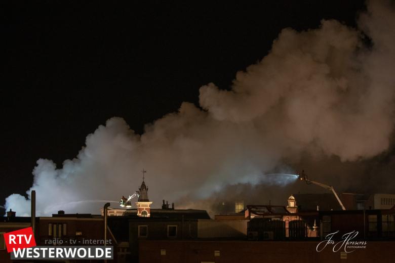 03-01-2019 inzet Meetploeg zeer grote brand Winschoten