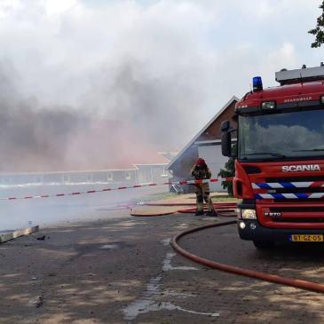 31-5-2019 Boerderijbrand Onstwedde