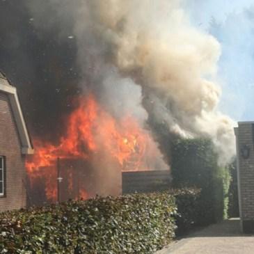 24-08-2019 Schuurbrand en dakbrand Blijham
