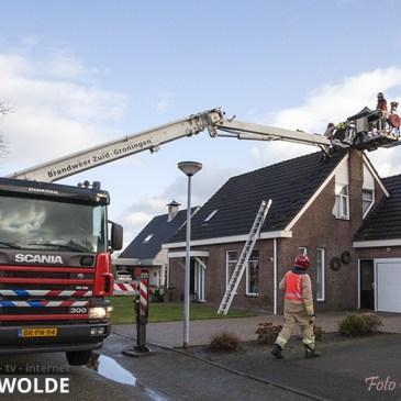 12-02-2020 Schoorsteenbrand Vlagtwedde
