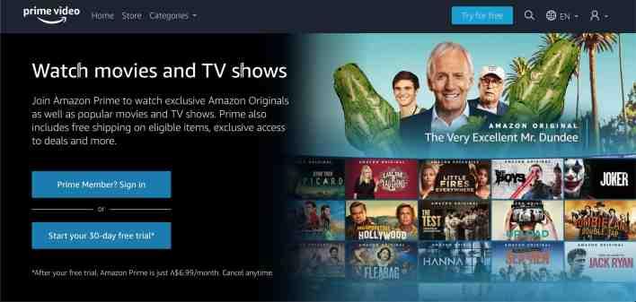 Amazon prime Websites like 123movies