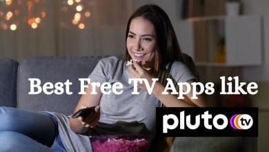 Best Free TV Apps like Pluto tv