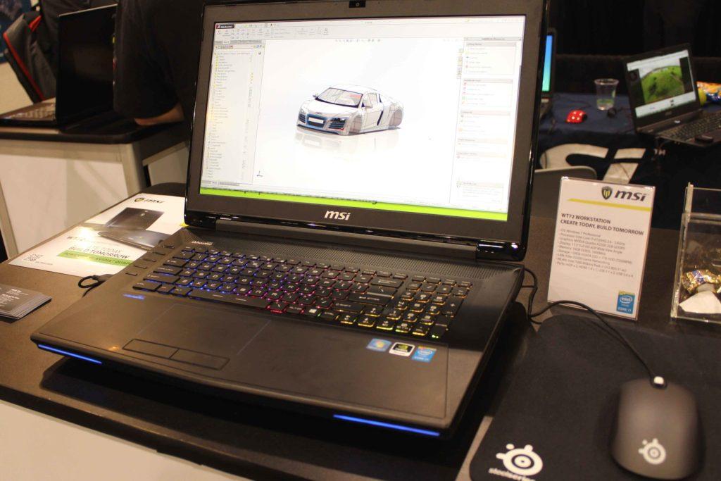 Le MSI WT est l'ordinateur pour architectes par excellence.