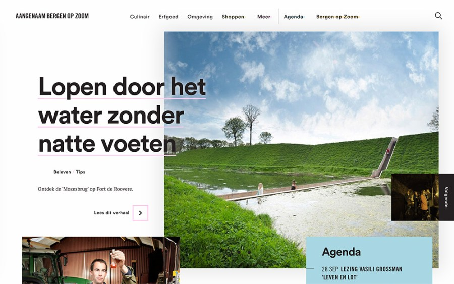 Aangenaam Bergen - Awesome Websites powered by WordPress