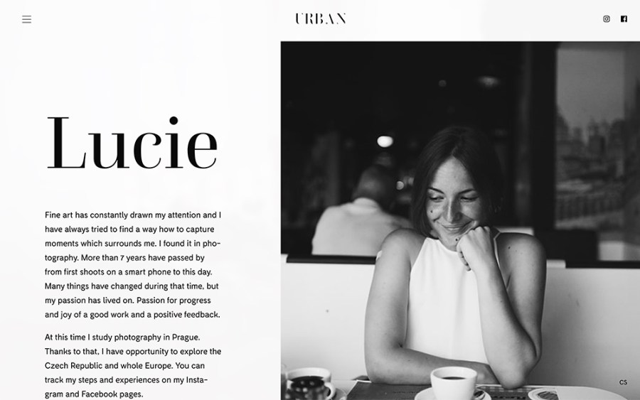 Lucie Urban - Awesome Websites powered by WordPress