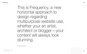 Frequency Best WordPress Portfolio Themes