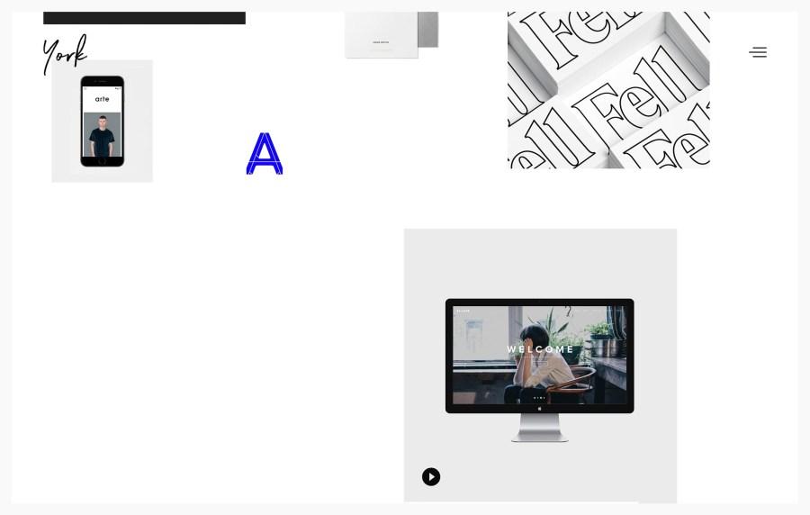 York Best WordPress Portfolio Themes