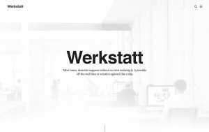 Werkstatt Architecture Resume WordPress Theme