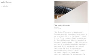 John Pawson - Best Architecture Websites 2018