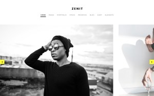 Zenit Best Photography WordPress Themes