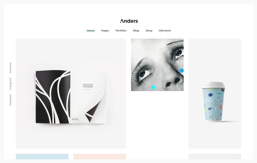 Anders Best Portfolio WordPress Themes