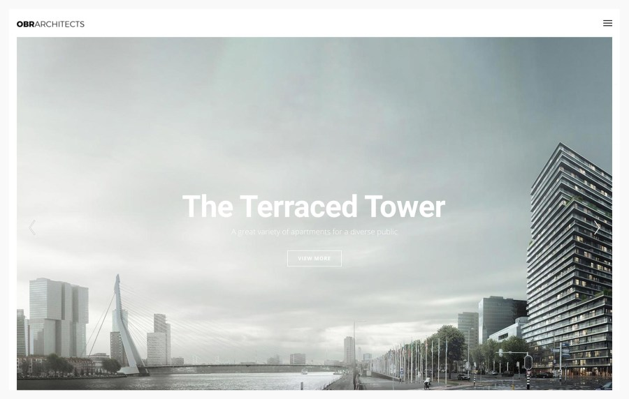Ombra - Best WordPress Themes for Architects