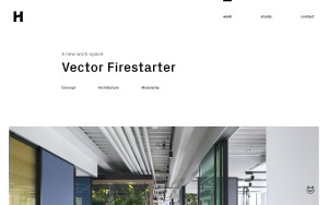Heller - Best Architecture Website of 2019