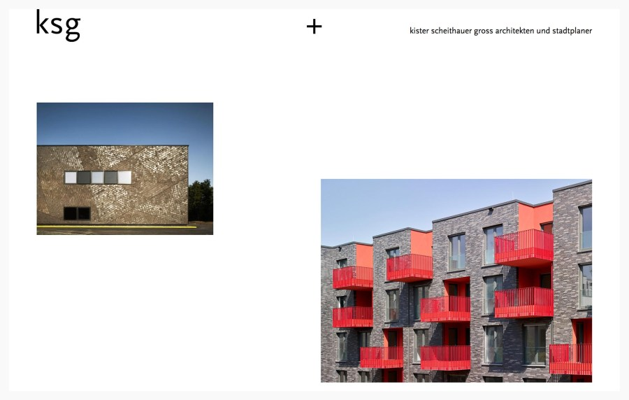 Kister Scheithauer Gross - Best Architecture Website of 2019