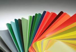 Fächer RAL-Farben
