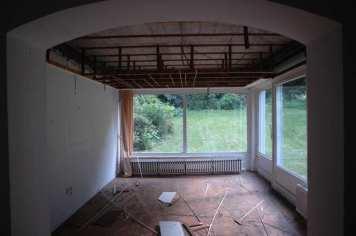 Bauphase 02 - Esszimmer / Gartenzimmer