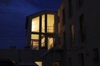 Treppenhaus außen