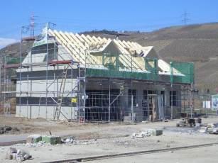 Haus mit Pool in Winningen - Bauphase 7