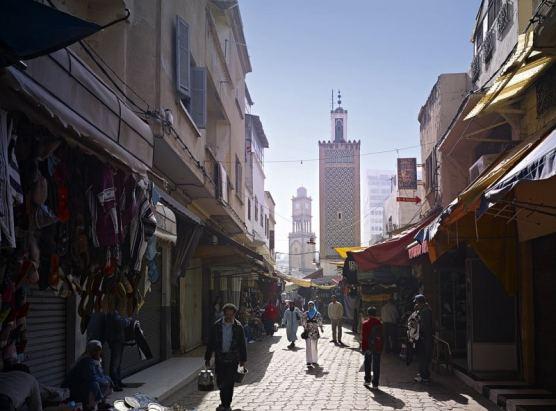 Guido Erbring Old Medina Casablance Morocco