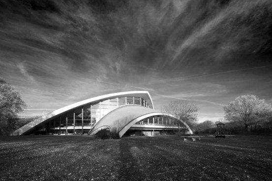 Stadionbad Hannover 60er Jahre Bau