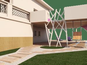 réalisation 3D cabinet architecture Archimel