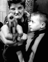 William Klein - Gun 1, New York 1954