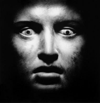 Figure del mare - Volto di Atleta dalla Villa dei Papiri di Ercolano, 1986