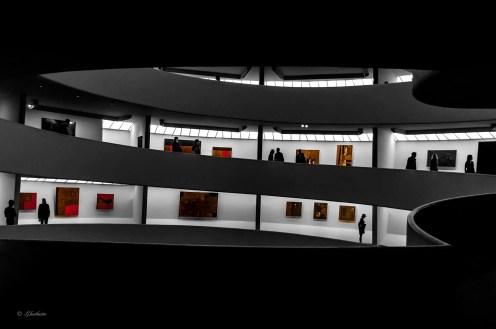 Interior - Guggenheim - N.Y.