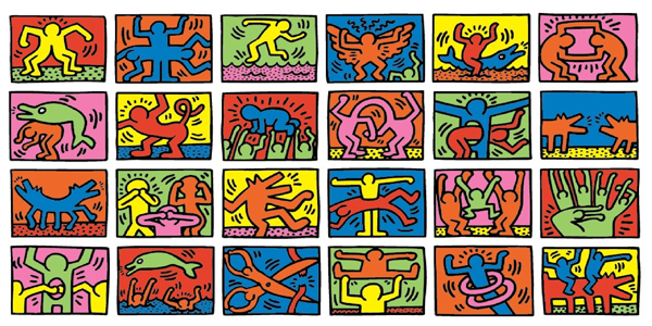 keith-haring-radiant-babies-and-barking-dogs