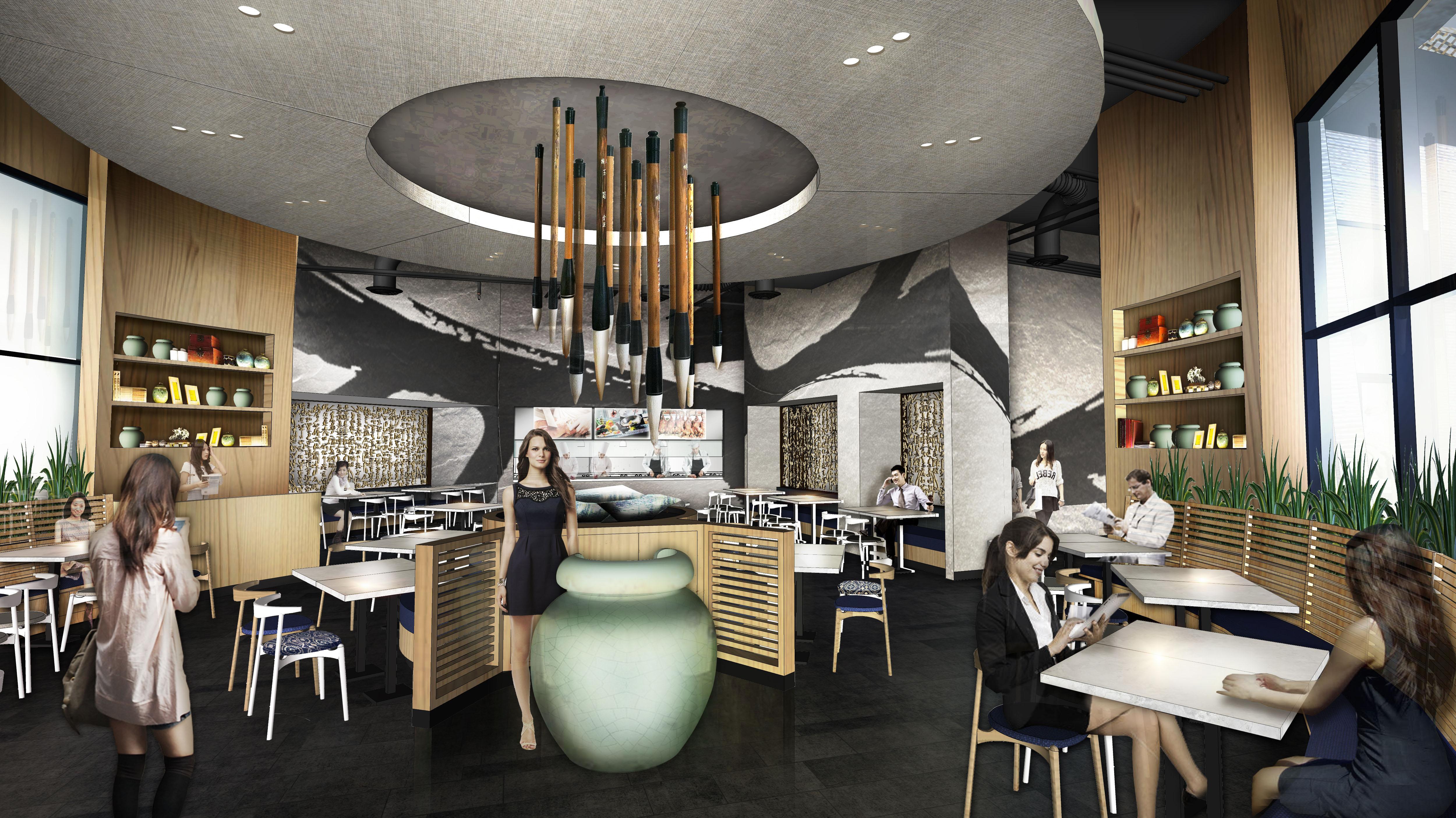 RTKL Project Dongpo Kitchen Restaurant In Universal City