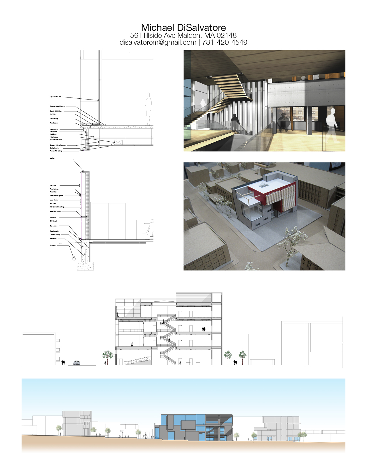 Work Sample Page   Michael DiSalvatore   Archinect Work Sample
