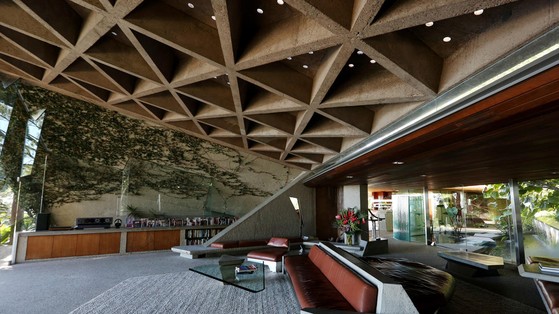 Lautners Sheats Goldstein House Is To Be Donated To LACMA